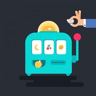 Máquina de jogo de cassino