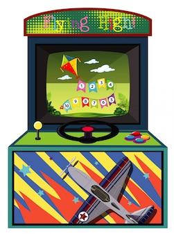 Máquina de jogo para contar números no isolado