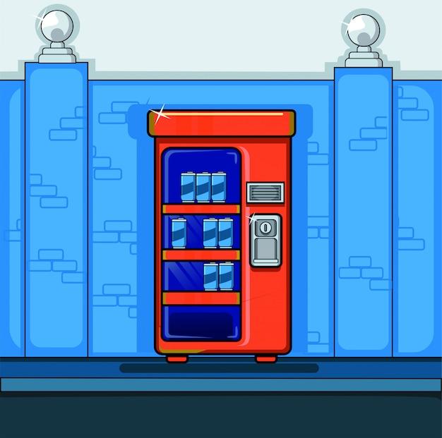 Máquina de venda automática de bebidas
