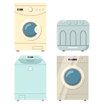Máquinas de lavar com secador