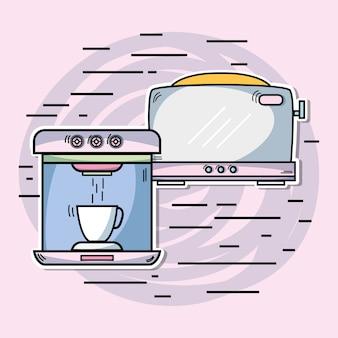 Máquinas tecnológicas usadas na cozinha