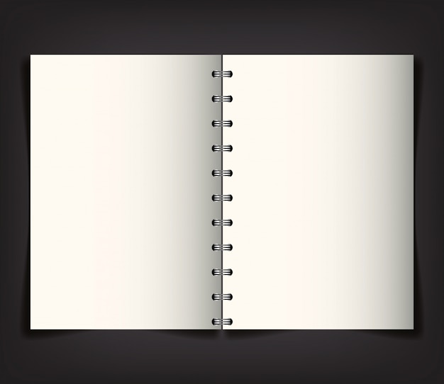 Marca da identidade corporativa, com notebook aberto