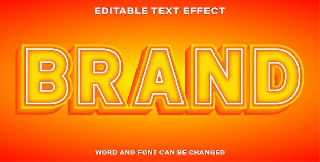 Marca efeito de texto bonito