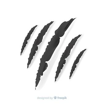 Marcas de garras de tigre