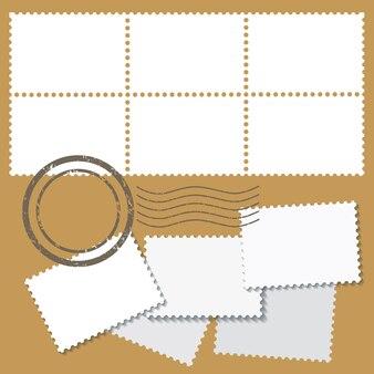 Marcas postais em branco