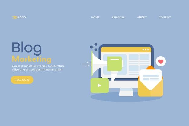Marketing de blog