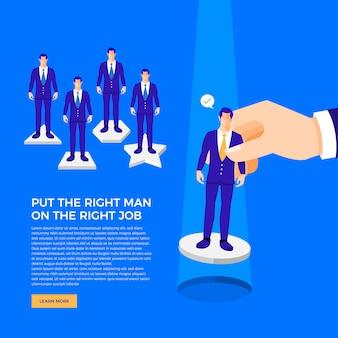 Marketing de conceito de negócio