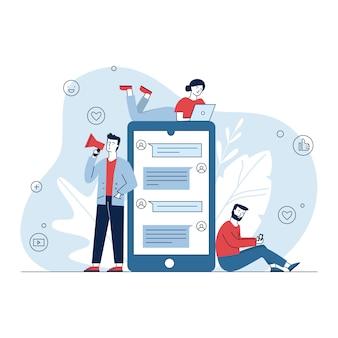 Marketing de mídia social