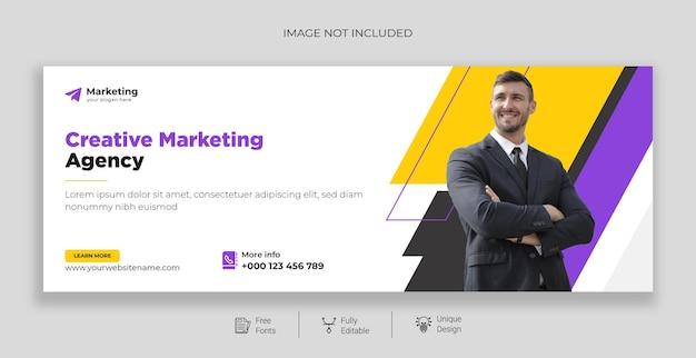Marketing digital corporativo promoção de negócios e cobertura do facebook corporativo