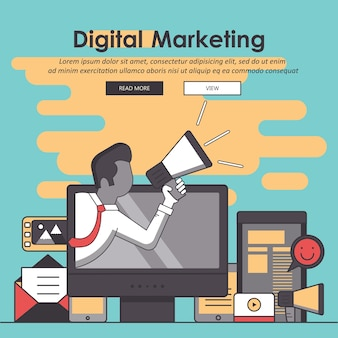 Marketing digital e publicidade
