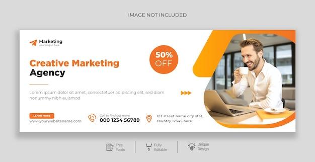 Marketing digital profissional corporativo promoção de negócios e cobertura do facebook corporativo