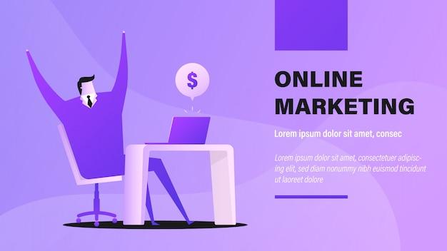 Marketing on-line.