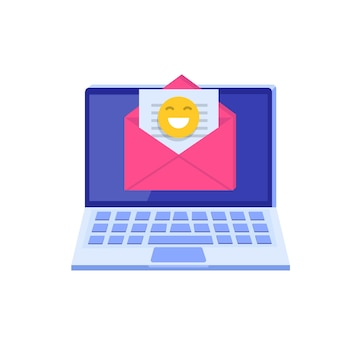 Marketing por email, conceito de assinatura