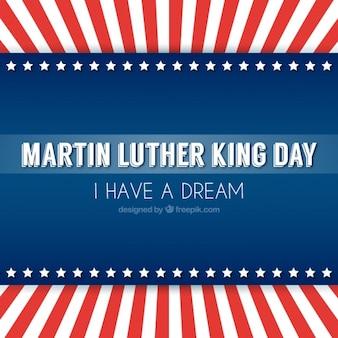 Martin luther king fundo no design plano