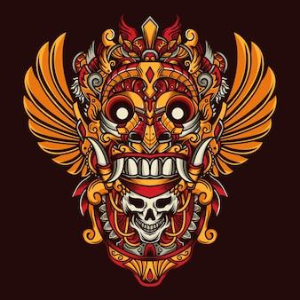 Máscara de cultura