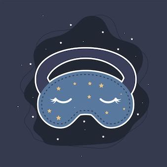 Máscara de olhos fofa para dormir