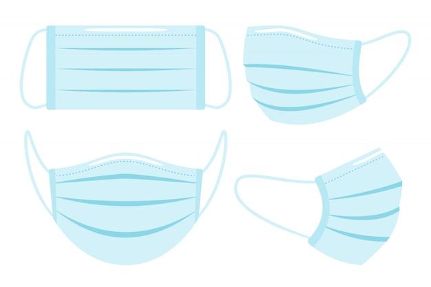 Máscara facial médica