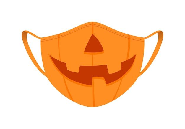 Máscara médica com design engraçado