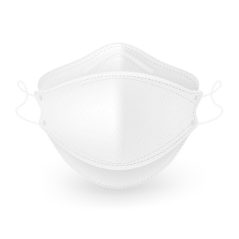 Máscara médica o padrão de máscara 3d oferece excelente proteção contra vírus