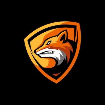 Mascot fox impressionante