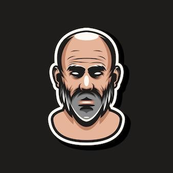 Mascote barbudo