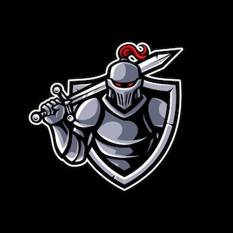 Mascote cavaleiro