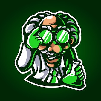 Mascote cientista