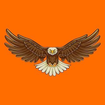 Mascote da águia