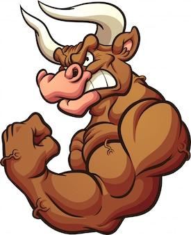 Mascote de touro