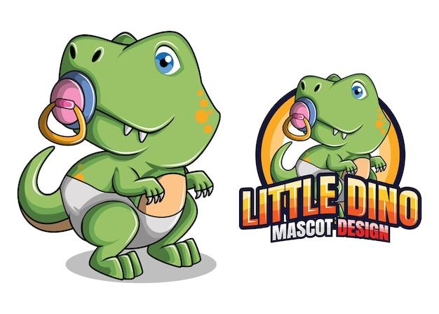 Mascote dinossauro