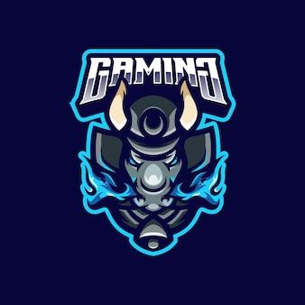 Mascote do logotipo da bull
