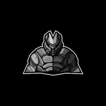 Mascote do logotipo do exército verde