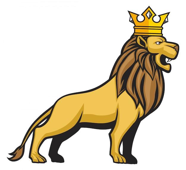 Mascote do rei leão