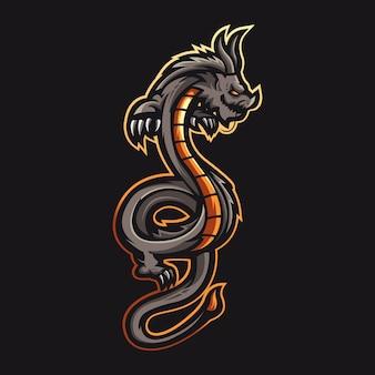 Mascote dragão