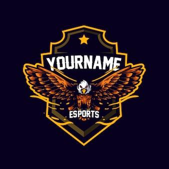Mascote eagle esports