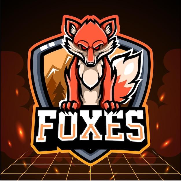 Mascote fox.