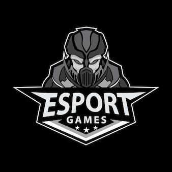 Mascote logo para esporte e - esporte