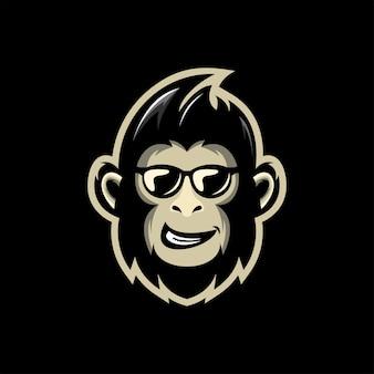 Mascote macaco legal