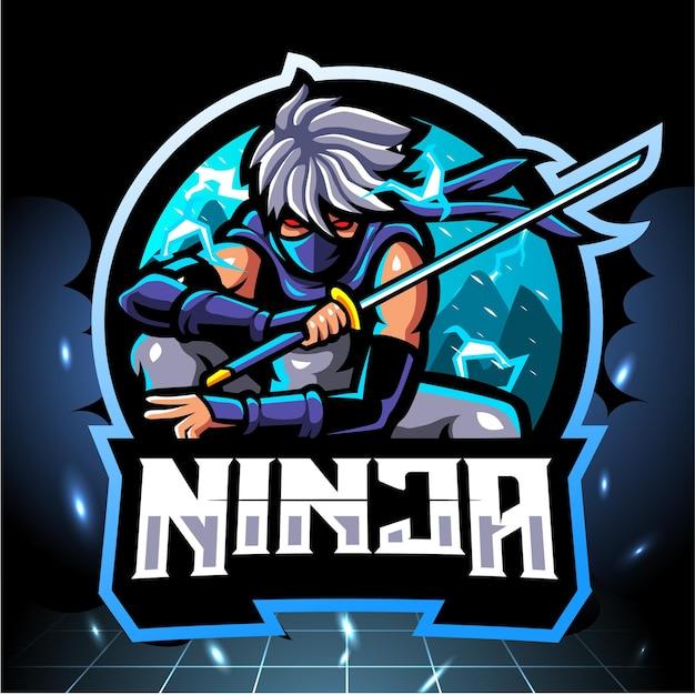 Mascote ninja.