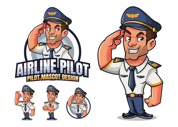 Mascote piloto