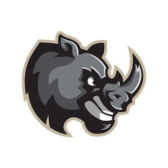 Mascote rinoceronte
