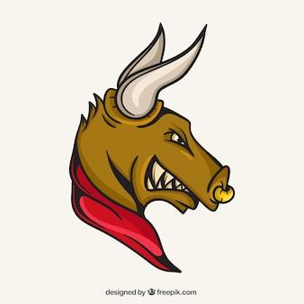 Mascote touro