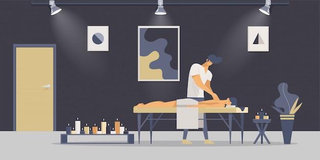 Massagem terapêutica relaxante