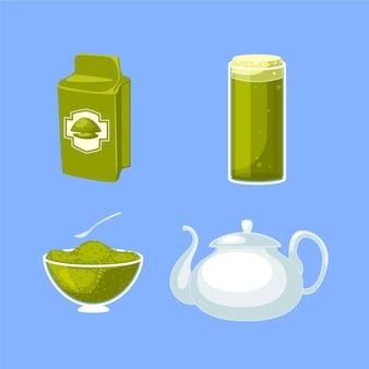 Matcha tea pack