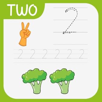 Matemática escrita prática número dois