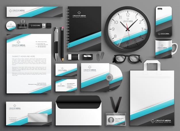 Material de apoio comercial definido para a sua marca