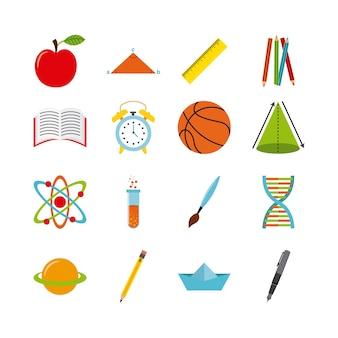 Material escolar design