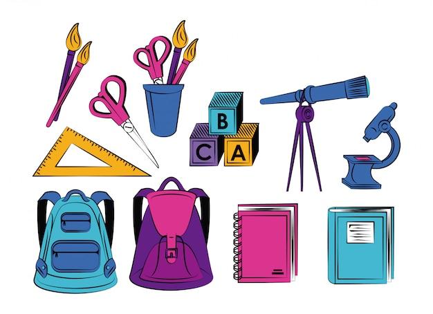 Material escolar elementar