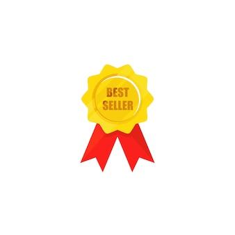 Medalha de marca top, medalha de melhor vendedor
