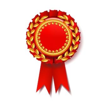 Medalha red award